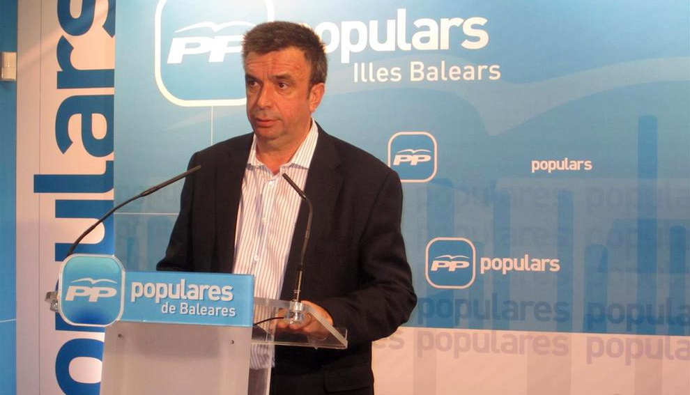 Miquel Vidal, presidente del PP balear