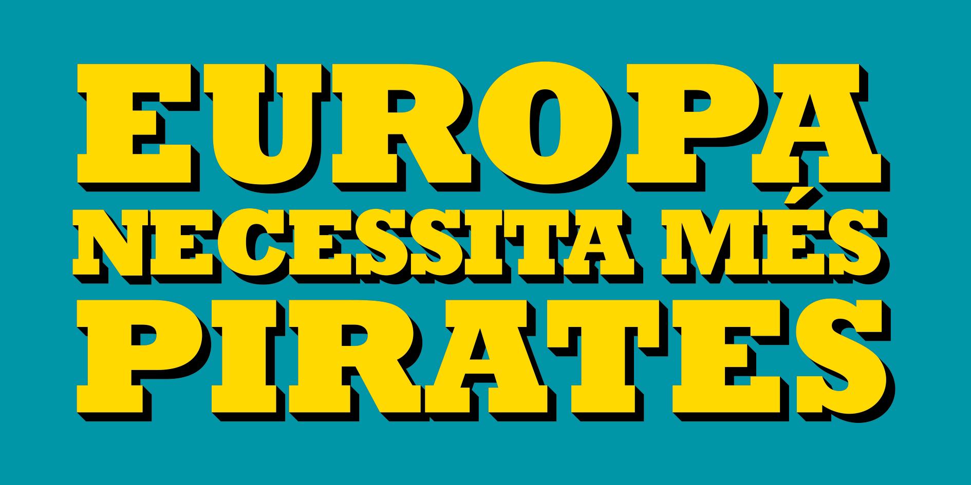 Pirates de Catalunya es presenta a les elecciones europees del 26 de maig del 2019